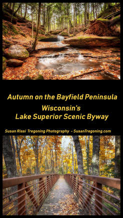 Picture Autumn on the Bayfield Peninsula: Wisconsin's Lake Superior Scenic Byway - An off season tour of Wisconsin's Lake Superior Scenic Byway which focuses on the nature areas and architecture of the area. A Travel Blog Post by Susan Rissi Tregoning Photography #Wisconsin