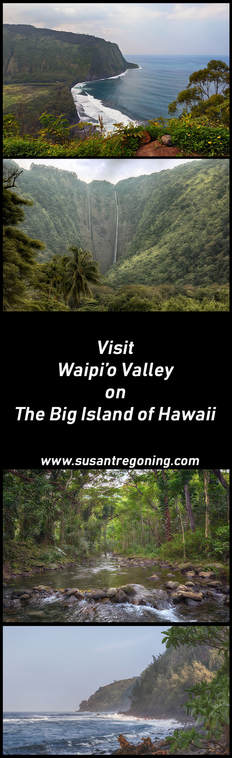 Visit Waipio Valley on the Big Island of Hawaii | Blog Post ~ Susan Rissi Tregoning Photography